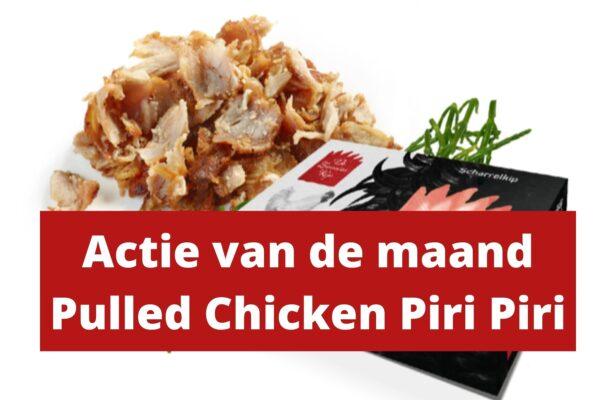 Pulled Chicken Piri-Piri
